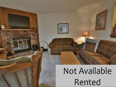 Photo for 3 Bedroom Mountainside Condo, End Unit. Near Kettle Brook Ski Trail.