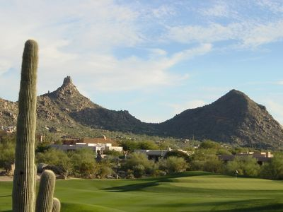 Luxury Home Directly On World-Famous Troon North Golf Course - 5 BR/4.5 BA