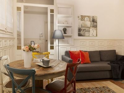 Photo for Palace 1 apartment in Gràcia with WiFi, air conditioning & private parking.