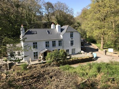 Photo for Mill House set in a rural wooded valley, near the sea, 15 mins from Dartmouth.