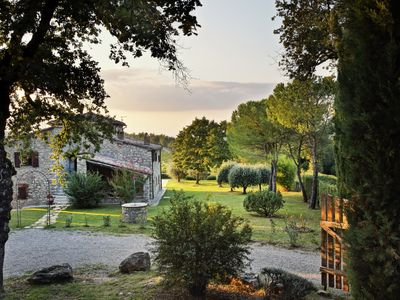 Photo for Secluded private paradise, but strategic located to main attractions of Chianti