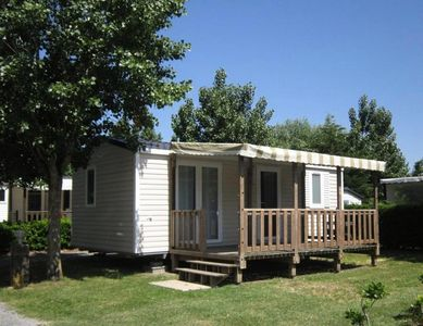 Photo for Camping Le Jardin du Marais **** - Mobile home Ficus 3 rooms 4 adults and 2 children