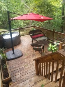 Photo for 15 Minutes from downtown Asheville w/Hot Tub - On 4 acres in the country!