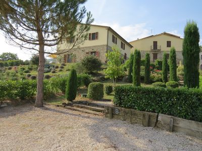 Photo for Luxurious Umbrian Country Borgo - Private Pools (Sleeps comfortably 18)