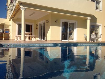 Photo for Superior Villa Sea Views Quiet Location heated Pool and much more please read !