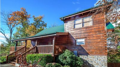 Photo for A Moment Inn Time--Luxury 3 King Bedroom Suite Cabin; 1/2 mile from Pigeon Forge