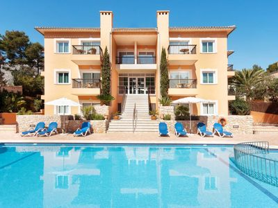 Photo for One bedroom Apartment, sleeps 4 in Cala San Vicente with WiFi