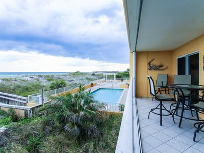 Photo for Gulf-Front at Gulf Dunes 102 ~ Updated Premium Unit Sleeps 10
