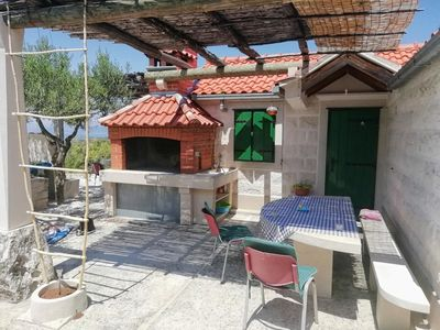 Photo for Secluded house with a parking space Pražnica, Brač (K-18347)