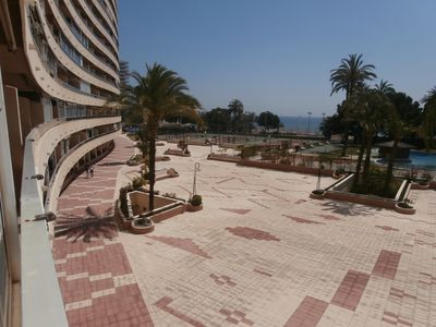 Photo for Magnificent apartment on the beachfront of Cullera.
