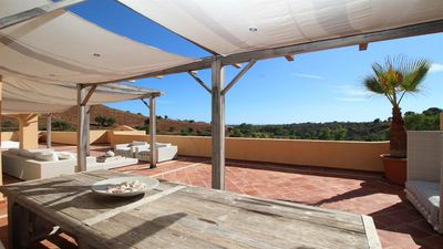 Photo for 6 seater luxury penthouse in Elviria hills - Marbella