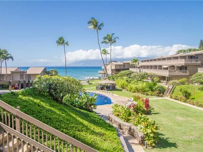 Photo for Top Floor Unit With Ocean Views! Just steps away from the beach! Kahana Sunset D2,