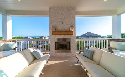 Photo for Paradise30A~The White Pearl, New Luxury Home, Heatable Private Pool, 6-Seater Golf Cart Included!