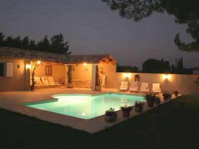 Photo for Rental Magnificent Provencal farmhouse of espiguette in a regional park Alpille