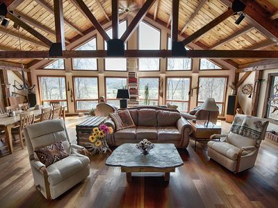 Photo for Spectacular Spirit Dancer 5 bedrooms Luxurious on 60 private acres