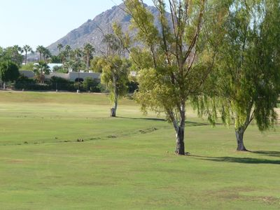 Photo for Enjoy Golf Course, Mountain, and Sunset Views
