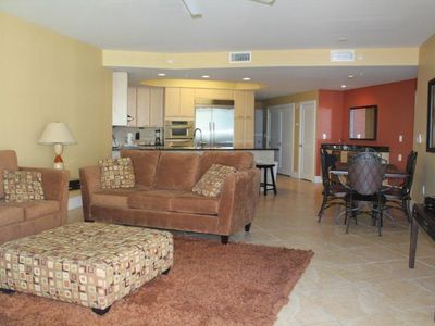 Photo for Caribe C609 - Gorgeous condo with huge balcony. Great pool & Gulf views!!
