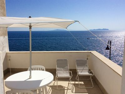Photo for AN EXCLUSIVE TERRACE ON THE SEA