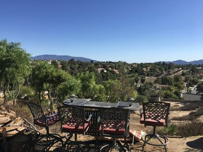 Photo for Beautiful hilltop with incredible views private road gated property