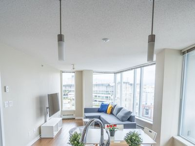 Photo for Convenient Location!Cozy&Clean 2Br+2BA next to Rogers Arena+Free Parking