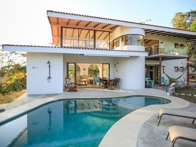 Photo for Best view in Santa Teresa, 2 minutes from the beach beautiful artisan house