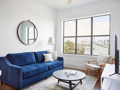 Photo for Sonder | The Hampstead | Bold 1BR + Parking