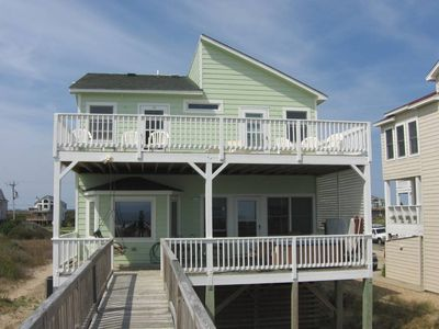 Photo for Derrycon: 5 BR / 3 BA five bedroom house in Nags Head, Sleeps 12