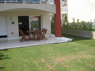 Photo for Juan Les Pins. Beautifully equipped apartment for 6 with pool. Close to beach