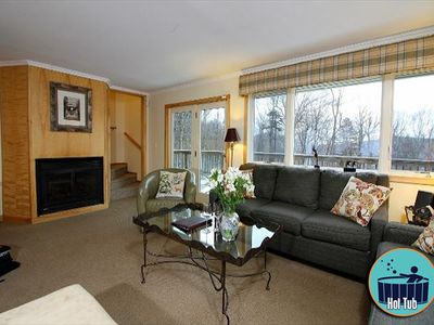 Photo for Premium private home with a hot tub on Killington, 3 miles from the Skyship