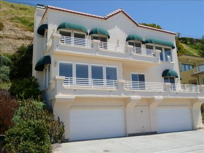 Photo for Panoramic Ocean Views - Across Street from Beach - Gated