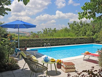 Photo for CASA POLLY- Holiday house with pool, private garden, pet-friendly, wi-fi, Marche