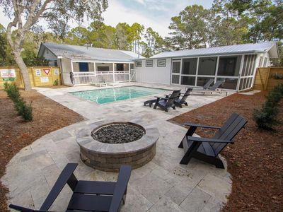 Photo for The Hideaway, Private Heated Pool, Game Room, Old Seagrove, Pet Friendly, Available Oct 28-Nov 6 at a Steep Discount!