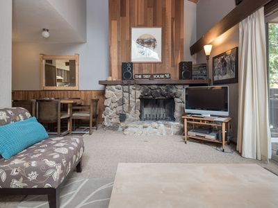 Photo for Super clean, tranquil Villas townhome located very close to Tahoe City, HOA tennis/pool