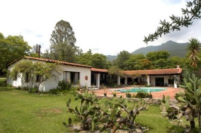 The Casa Grande with its Wonderful Pool