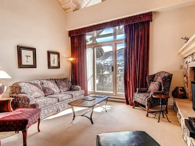 Photo for Enjoy view of Beaver Creek from ski-in/ski-out condo w/shared pool & hot tub