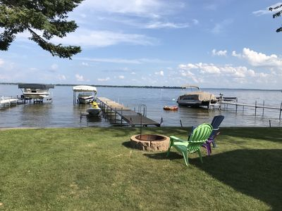 Photo for Lakefront Cottage Located On The West Shore of the North Bay of Houghton Lake