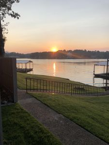 Photo for Enjoy a beautiful view of Lake Hamilton in this newly remodeled condo!!!