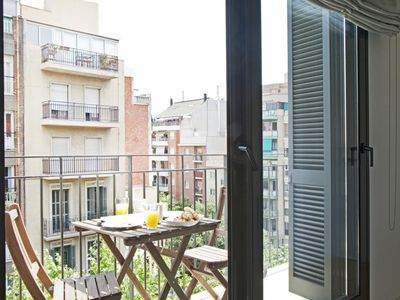 Photo for Apartment in Barcelona with Internet, Air conditioning, Lift, Balcony (711792)