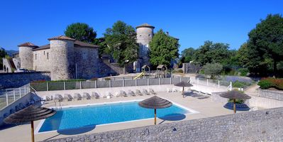 Photo for Cottage Castle CHAUSSY with heated pool, South Ardeche