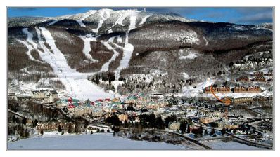 Photo for A+ SKI-IN/SKI-OUT MONT TREMBLANT SKI RESORT SOUTH SIDE 3 bedrooms, 2 1/2 baths