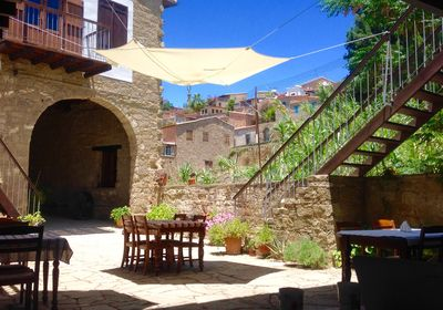 Come and relax in our courtyard and enjoy a cooked breakfast, or cereals etc.