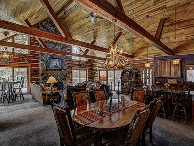 Photo for The Musky Bay Lodge Private Vacation Rental Home