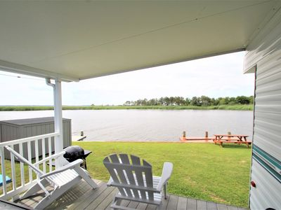 Photo for Waterfront Cottage at Outdoor Resorts Surfside at Sandbridge