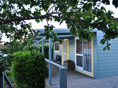 Photo for Two country cabins with stunning views for groups