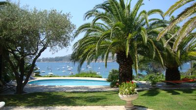 Photo for Charming villa by the sea 10m from the beach Agay-Exceptional view-Pool
