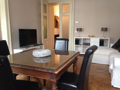 Photo for Beautiful very centrally located apartment in a renovated old building