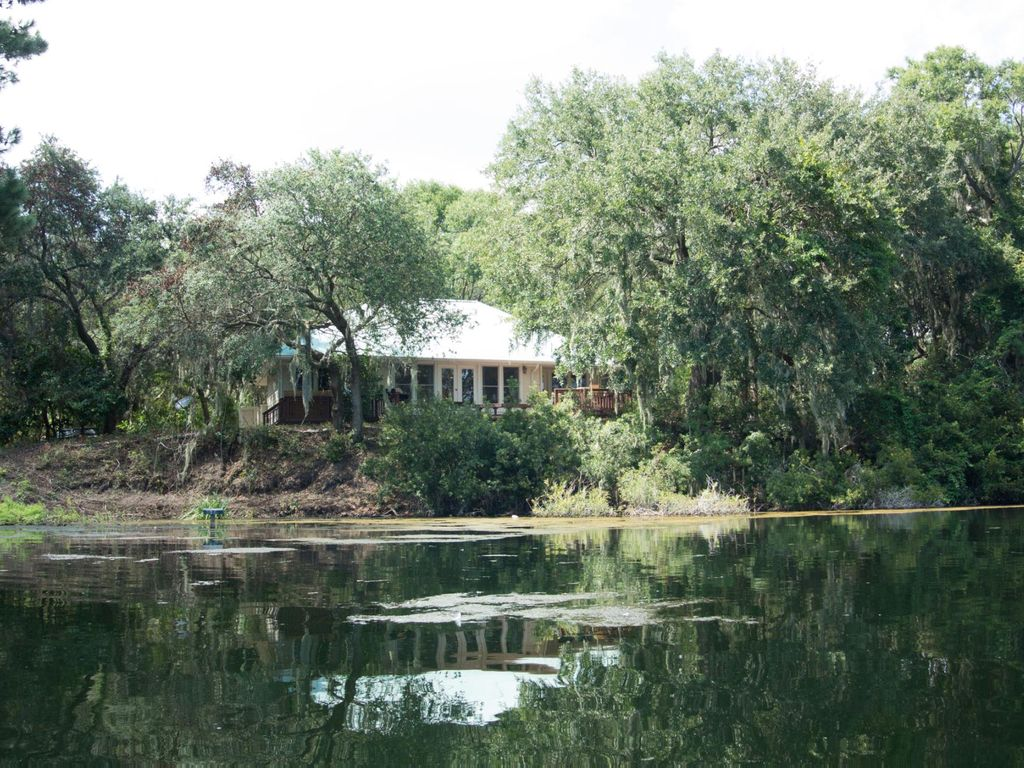 Private Beaufort Retreat With Secluded HomeAway Ladys Island - And architectural cottages on secluded private pond homeaway