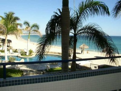 Photo for A Romantic Condo in Los Cabos, Directly on the Beach!