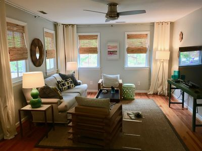 Photo for Walk to everything: charming & freshly renovated, parking, close to CofC