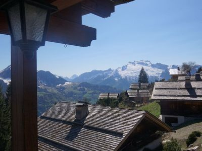 Photo for Cozy Chalet - Fireplace - Amazing View - 4 Bedrooms - Terraces